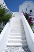 Whitewashed Steps — Stock Photo