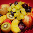 Plate with some Fruits — Stock Photo
