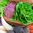 Basket full with Vegetables - Stock Photo