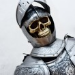 Stock Photo: Very old Knight