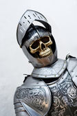 Very old Knight — Stock Photo