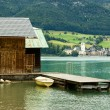 Lake Wolfgangsee - Stock Photo