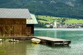 Lake Wolfgangsee — Stock Photo