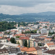 High Angle View on Linz — Stock Photo
