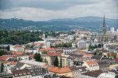 High Angle View on Linz — Stock Photo