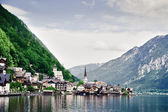 Hallstatt with Lake — Stock Photo