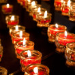 Votive Candles - Stock Photo