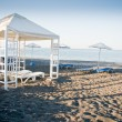 Pavilion on the Beach — Stockfoto