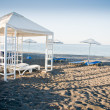 Pavilion on the Beach — Stock Photo