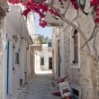 Stock Photo: Alleyway in Greece
