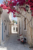 Alleyway in Greece — Stock Photo