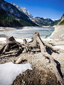 Lake in the Austrian Alps — Stock Photo