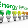 Energy Efficiency Concept — Stock Photo