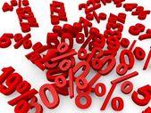 Percent — Foto de Stock