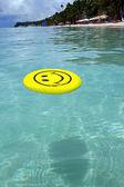 Smile of a joke at sea — Stock Photo