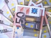 50 euros — Stock Photo