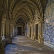 Cloister of cathedral — Stock Photo