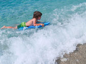 Little surfer — Stock Photo