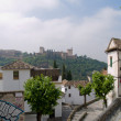 Arab district in Granada — Stock Photo