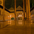 Alhambra palace at night — Stock Photo #5022908
