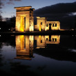 Egyptian temple debod — Foto Stock