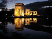 Egyptian temple debod — Stock Photo