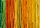 Threads rainbow — Stock Photo