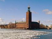 Ratusz, sztokholm, szwecja — Zdjęcie stockowe
