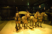 Bronze Chariots, Xi'an — Stock Photo