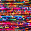Traditional woven fabric - Stock Photo