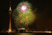 Macau Firework Festival — Stock Photo