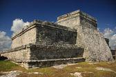 Tulum mayský chrám, mexiko — Stock fotografie