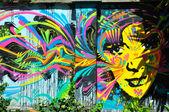 Street Mural — Stock Photo