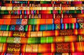 Traditional Textiles — Stock Photo
