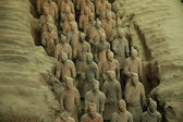 Terracotta Warriors, Xi'an — Stock Photo
