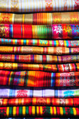 Traditional Textiles — Stock Photo