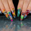 Nail design — Stock Photo #4575661