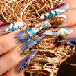 Nail design — Stock Photo #4576272