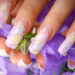 Royalty-Free Stock Photo: Nail design