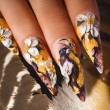 Nail design — Stock Photo