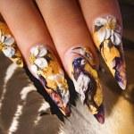 Nail design — Stock Photo #4576317
