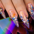 Nail design — Stock Photo #4576626