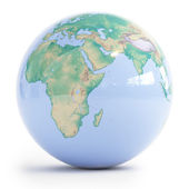 行星地球 — 图库照片