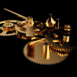 Clockwork Gold — Stock Photo
