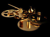 Clockwork Gold — Stock Photo