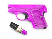 Pistol glamorous — Stock Photo