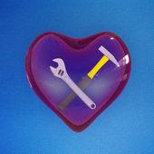 Heart Instruments — Stock Photo