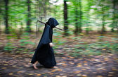 Death with scythe — Stock Photo