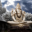 Stock Photo: Big Lord Shivstatue in Bangalore