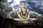 Big Lord Shiva statue in Bangalore — ストック写真